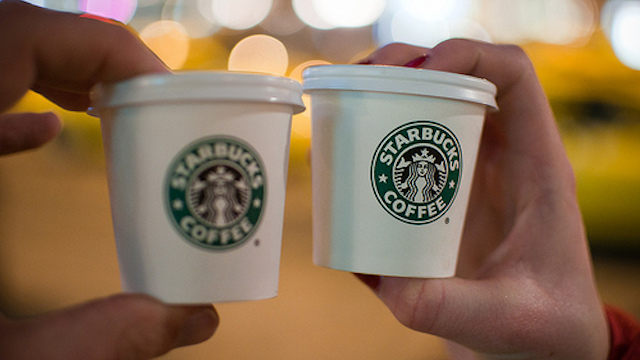 ukuran starbucks short